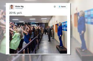 épinglé par ❃❀CM❁✿États-Unis. Hillary Clinton à Orlando ou le paroxysme du selfie | Courrier international