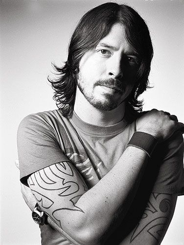 Dave Grohl  - helps to know that he is supposed to be super nice and down to earth on top of being super talented.