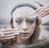28 de la Reina de Hielo de Halloween Maquillaje se Ve Que Son Chill AF