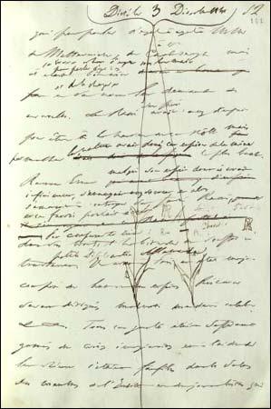 manuscrit de La Chartreuse de Parme, un élément capital pour la compréhension de l'œuvre de Stendhal, devient accessible à la recherche.