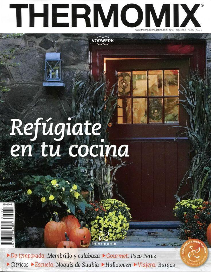 Thermomix Magazine nº37. Refúgiate en tu cocina
