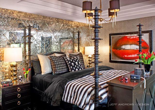 Blanco Interiores: Em casa de Kris Jenner...Inside Kris Jenner Home!