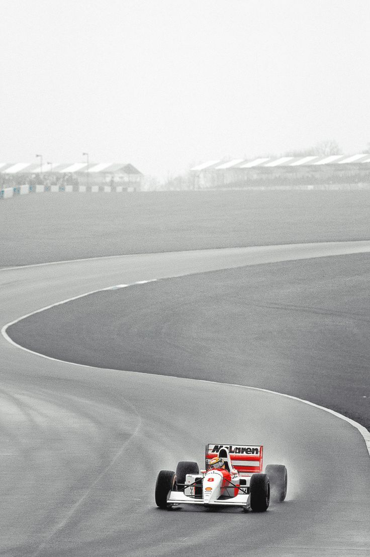 Ayrton Senna 1993 - A true hero Follow us - Sexy Sport Cars