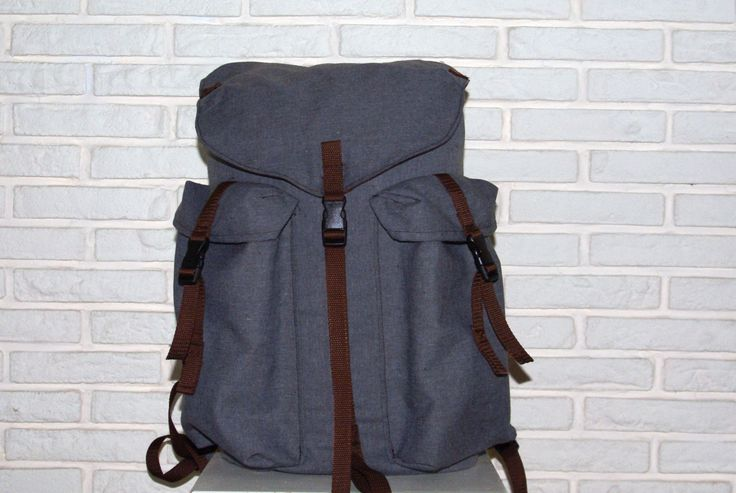 The Bushcrafter 25l pack canvas backpack / Hiking Backpack / Scout backpack / Vintage Backpack Rucksack by ReefKnotBags on Etsy