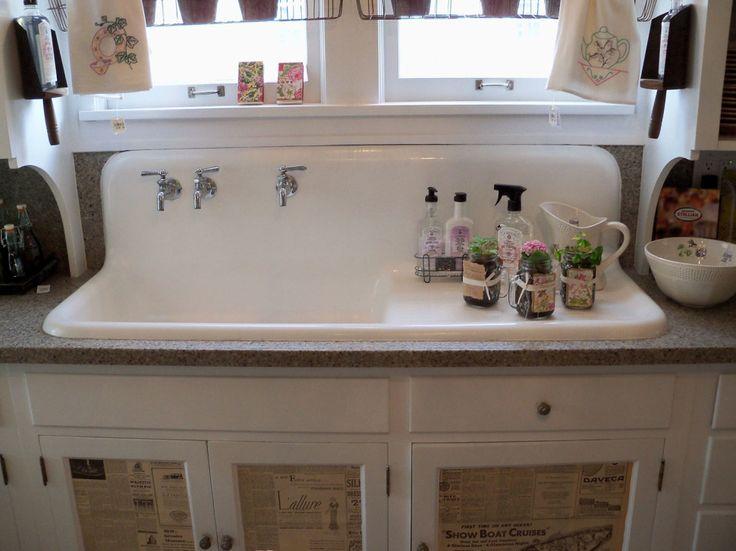 Kitchen:Wild Rose Vintage: Bachman\'s Spring Idea House Vintage Kitchen Sinks Craigslist Antique Retro Kitchen Faucets and Sinks Ideas For N...
