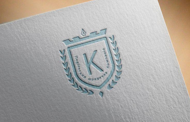 """[ Логотип в сфері юридичних послуг для """" ПОДІЛЬСЬКА ЮРИДИЧНА КОМПАНІЯ КЕРЕВИЧ ТА ПАРТНЕРИ """" ]"""