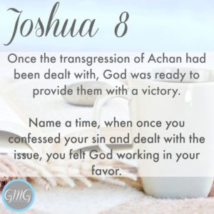 Discussion Questions Joshua 8
