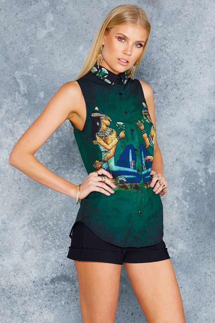 Goddess Business Time Shirt - LIMITED ($80AUD) by BlackMilk Clothing