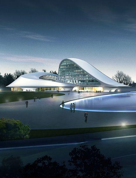 Centre culturel de Harbin par MAD – Dwi Prastiyo – #Centre #Culturel #Dwi #Harbin …