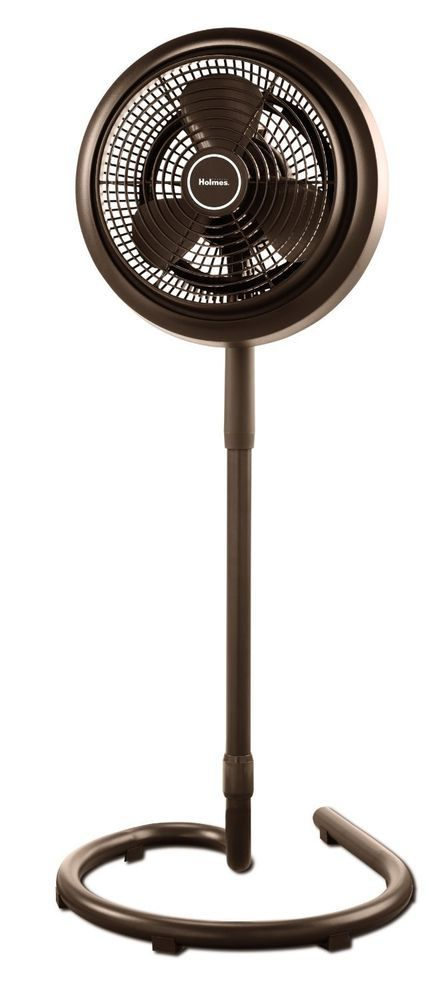 Outdoor Misting Fan Patio Oscillating Water Pedestal Standing Cooling  Furniture