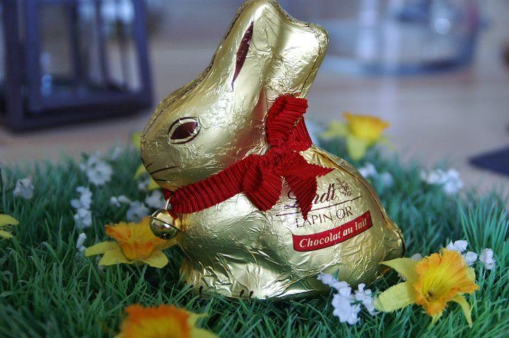 Vous avez eu un lapin Lindt à Pâques ou on vous a offert trop de chocolat ? Voici une petite idée de recette de cupcakes à faire avec tout ce chocolat ! :D Il vous faut : 1 lapin Lindt (ou 100 g d…