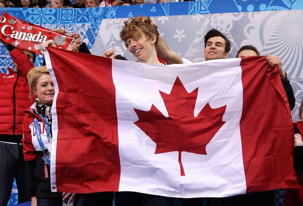 Kevin Reynolds Kevin Reynolds of Canada reacts after competing in the Men's Figure Skating Men's Free Skate during day one of the Sochi 2014...