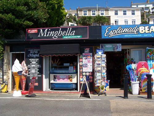 Ice Cream Shop * Beach * Minghella's