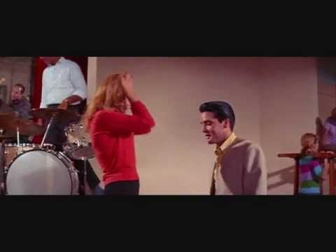 """""""Come On Everybody"""" Ann-Margret dances to Elvis Presley's singing"""