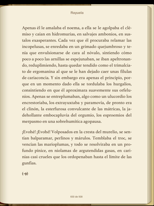 RAYUELA, Julio Cortázar
