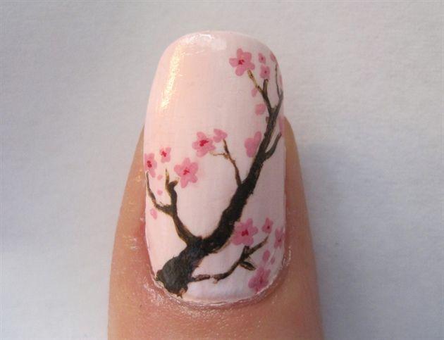 Cherry Blossoms - Best 20+ Cherry Blossom Nails Ideas On Pinterest Spring Nail Art