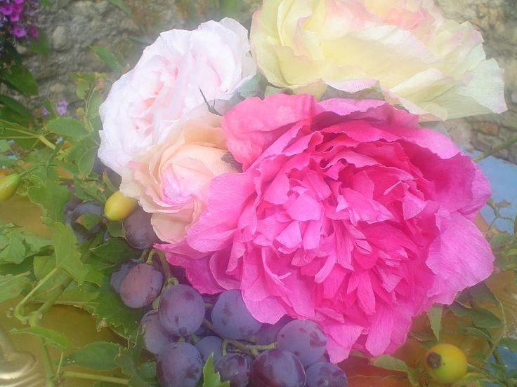 Workshop rozen van papier maken  Bron: Copyright@ rosesdepapiers