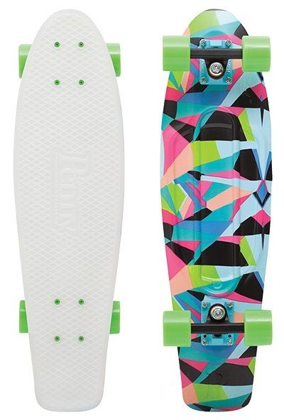 "Penny Nickel 27"" Slater Glow 2015 Skateboard Complete-- i want it. Also sorry this says its a gif it isnt."