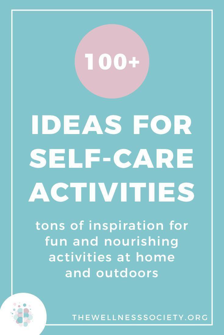Auf der Suche nach Ideen zur Selbstversorgung? Schauen Sie sich diese über 100 Ideen für Self-Care-Aktivitäten an …   – How to love yourself | Self-love