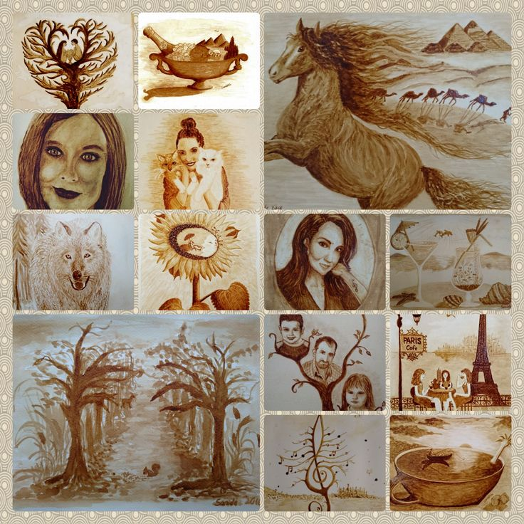 2016 all coffee painting