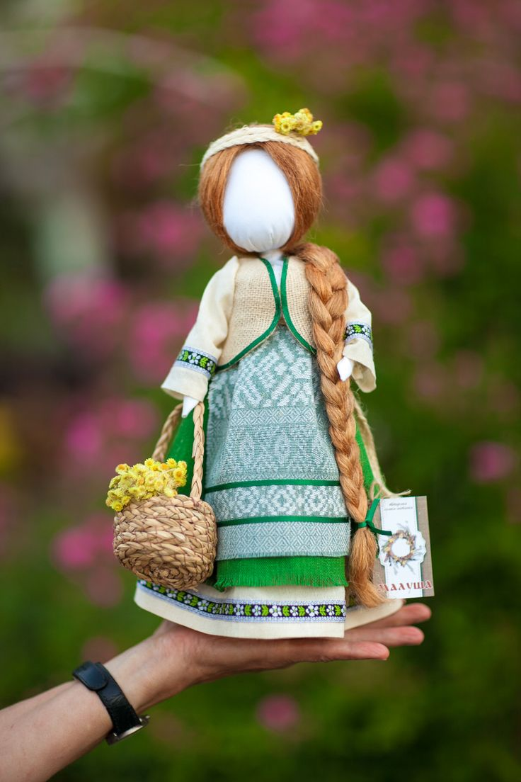 Украинская народная кукла-мотанка Ukrainian doll - Motanka