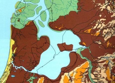 zo zag midden Nederland er uit rond 800 n Chr