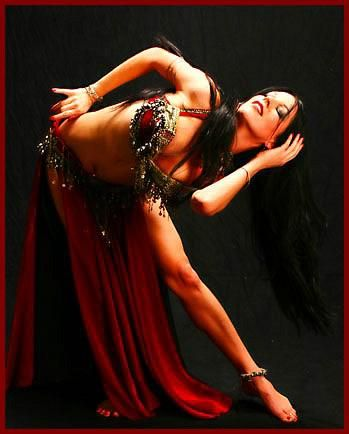 Egyptian belly dance