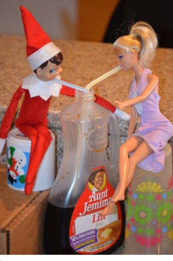 Elf and barbie