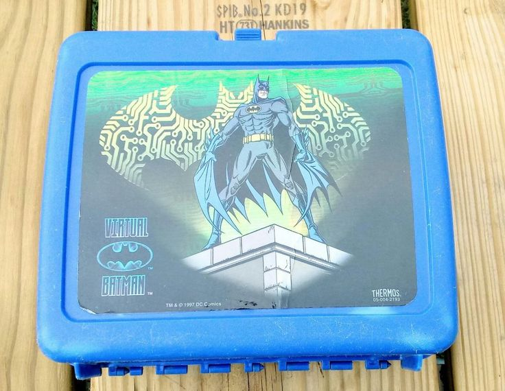 Virtual Batman Lunch Box vintage 1997 without Thermos  | Collectibles, Pinbacks, Bobbles, Lunchboxes, Lunchboxes, Thermoses | eBay!