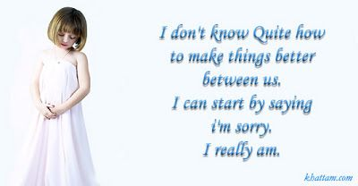 sorry friend quotes   Sorry SMS - Hindi sorry quotes & poems   letmeget.com
