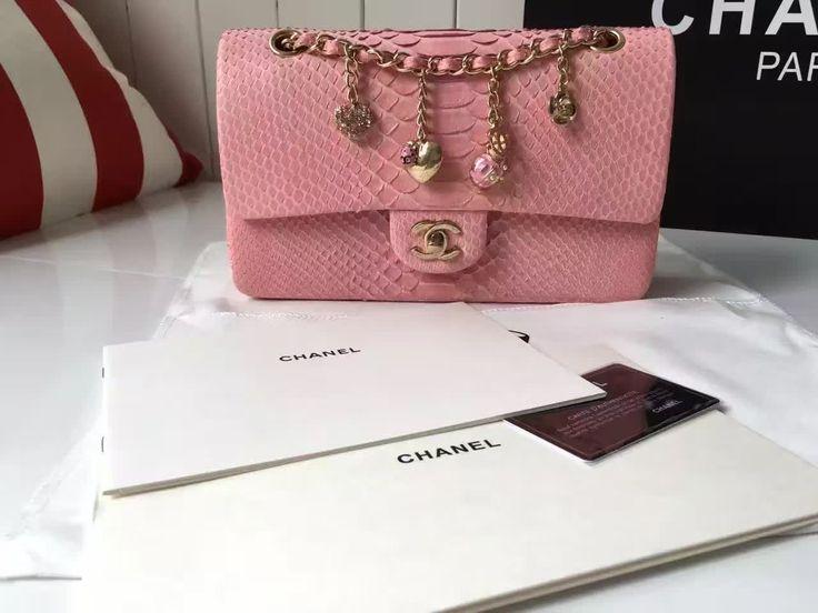 Pink leather handbags online