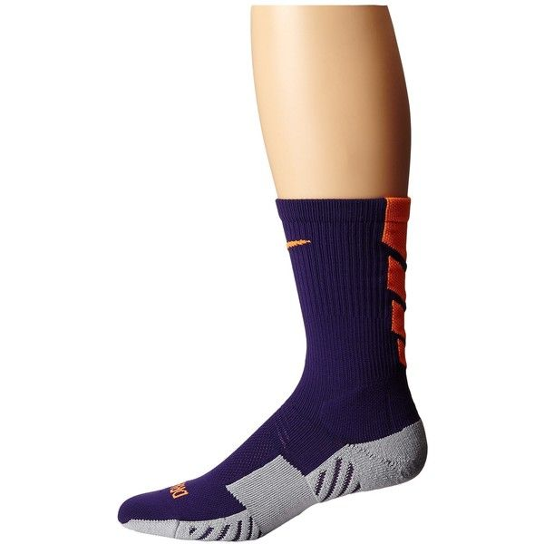 Nike Stadium Soccer Crew Cut Socks ($14) ❤ liked on Polyvore featuring intimates, hosiery, socks, nike socks, logo socks, cuff socks, seamless socks and crew socks