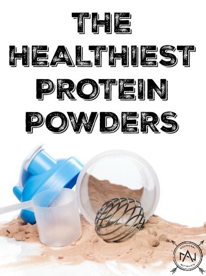 The Healthiest Protein Powders - paleo, organic, vegan, grain-free and gluten-free options!