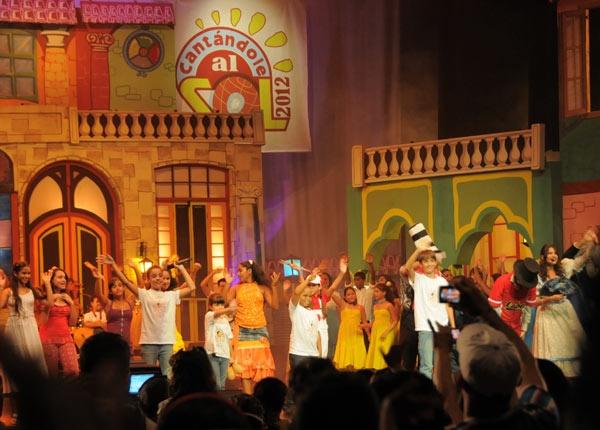Niños que cantan sus sueños: Esta tarde será la premiación de las obras ganadoras de la XXI Edición del Festival Nacional de la Canción Infantil Cantándole al Sol