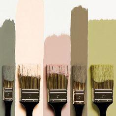 Peinture: les nouvelles couleurs Flamant par Tollens