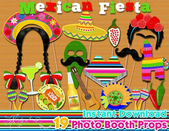 Fiesta Mexicana Foto accesorios de cabina fiesta por PaperArtbyMC