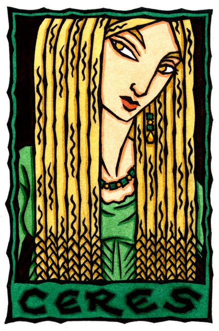 Ceres, Roman Goddess of Grain by Thalia Took