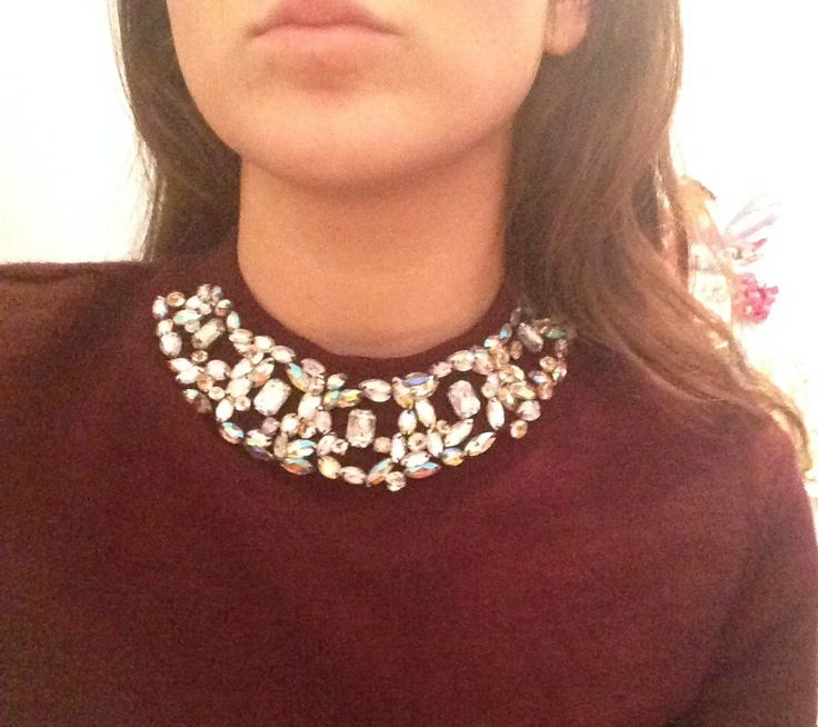 Sweater & necklace Koton