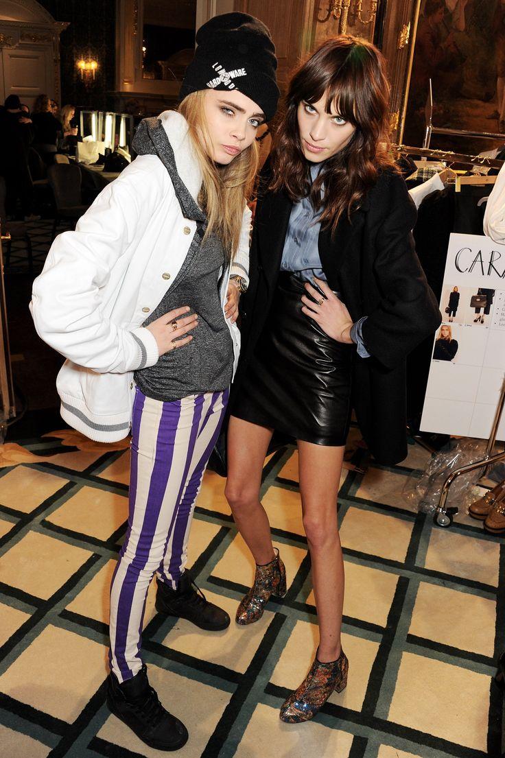 Alexa Chung & Cara Delevigne