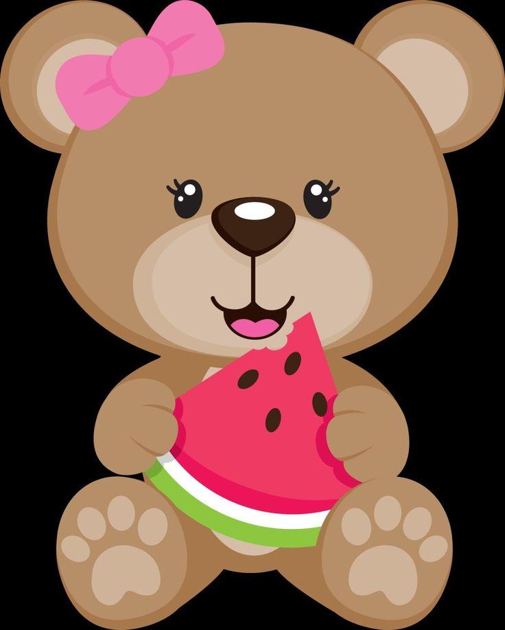 Картинки милых нарисованных медвежат