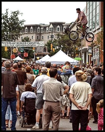 Waterloo Busker Festival, Waterloo, Ontario