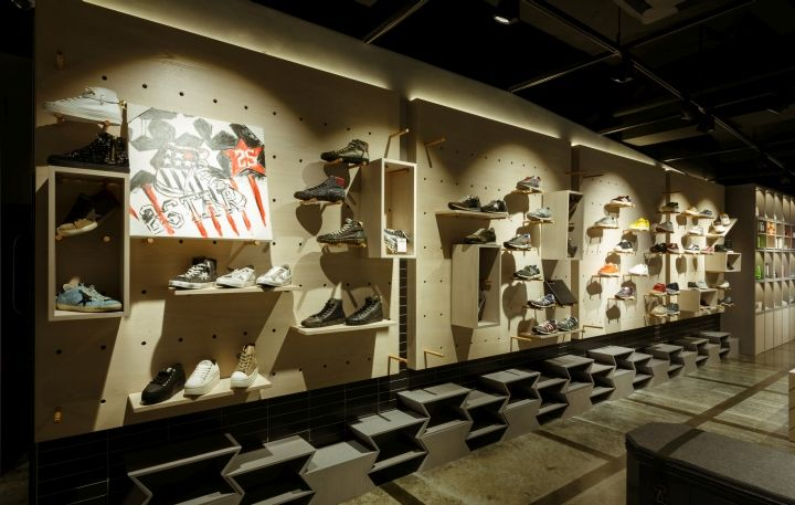 On the Spot Store by Kiyeni & Taw Design Group, Seoul – South Korea » Retail Design Blog
