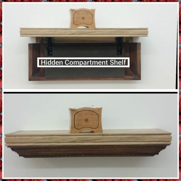 Superior Secret Compartment Shelf Home Design Ideas