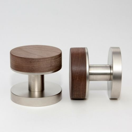 Designer Doorware Nik Timber door knobs #doorknobs #door #Designerdoorware # doorware #brooklynshowroom & 144 best HARDWARE.... images on Pinterest | Folk Most popular and ...