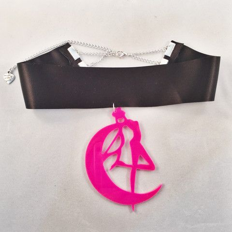 Sailor Moon Choker Pink - Deer Designs