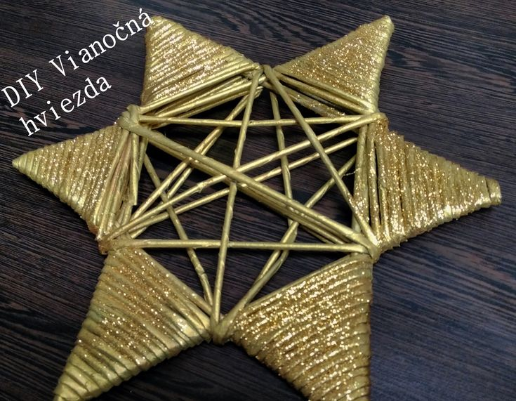 Vianočná hviezda - christmas star