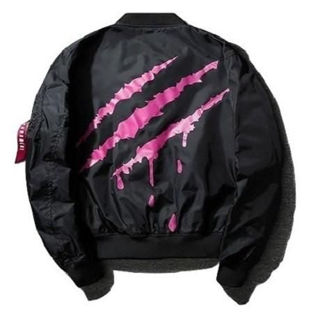 Slasher Bomber Jacket [Black/Red]