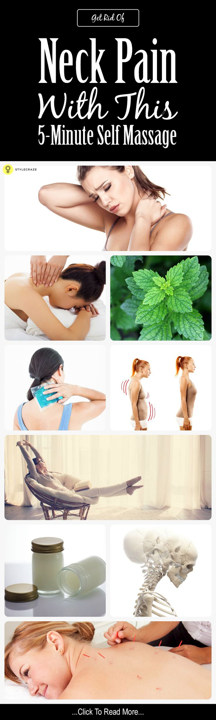 How To Get Rid Of Neck Pain In 5 Minutes With This Self Massage– All You Need To Know And Do!