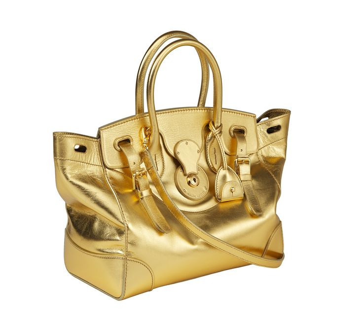The Soft Ricky Bag in Gold, featured at the Pop Up Store in Corte Inglés Castellana