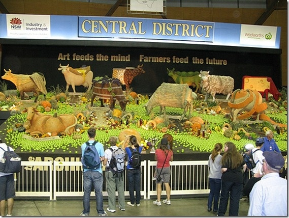 Sydney Royal Easter Show  - Central District exhibit
